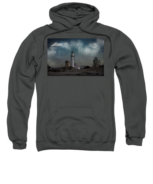 Whitefish Point Lighthouse Lake Superior Sweatshirt