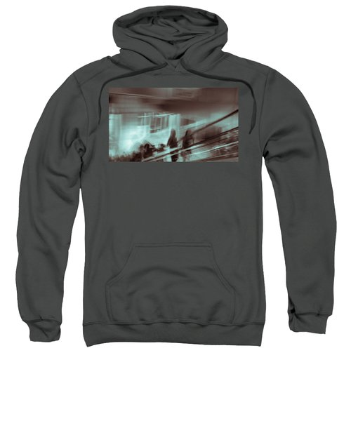 Sweatshirt featuring the photograph Why Walk When You Can Ride by Alex Lapidus