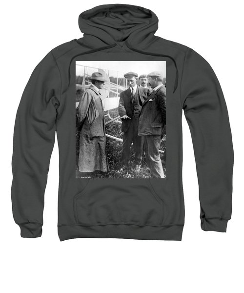 Wilbur Wright, 1908 Sweatshirt