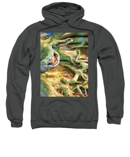 Wild Roots By Christopher Shellhammer Sweatshirt