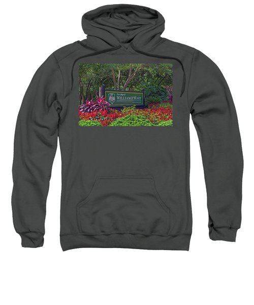 William And Mary Welcome Sign Sweatshirt