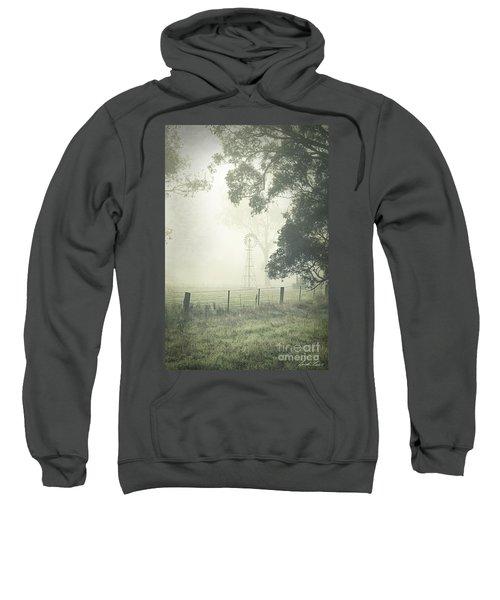 Winter Morning Londrigan 9 Sweatshirt by Linda Lees