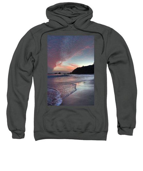 Winter Sunset Crescent Bay Sweatshirt