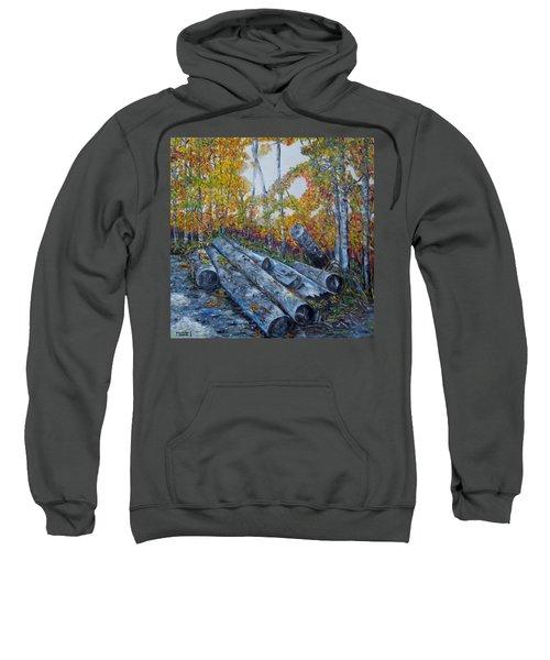 Winter's Firewood Sweatshirt