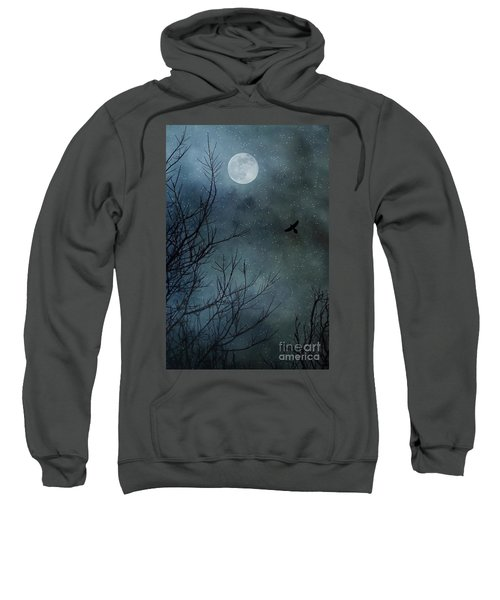 Winter's Silence Sweatshirt by Trish Mistric