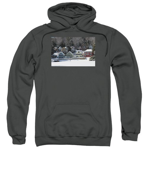 Wintery Alton Bay Nh Sweatshirt