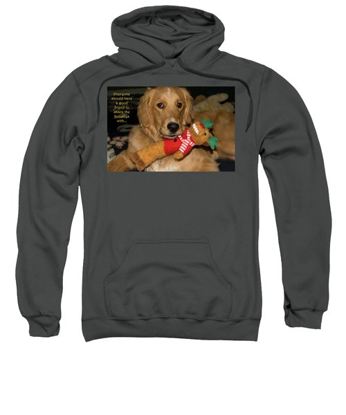 Wish For A Christmas Friend Sweatshirt
