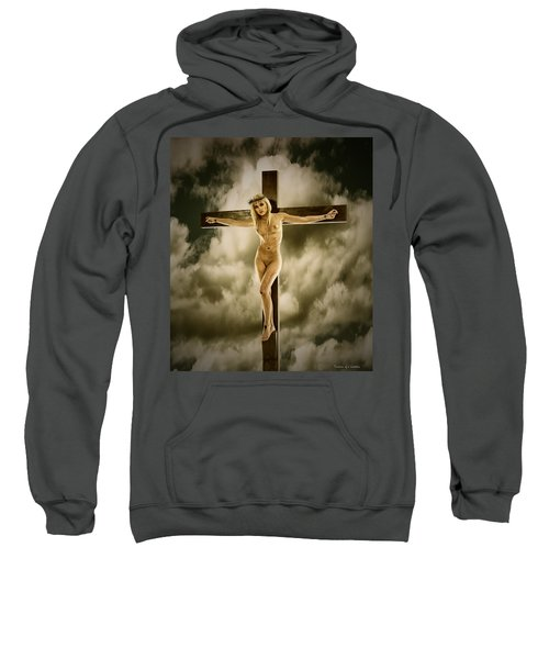 Woman On The Cross Sweatshirt