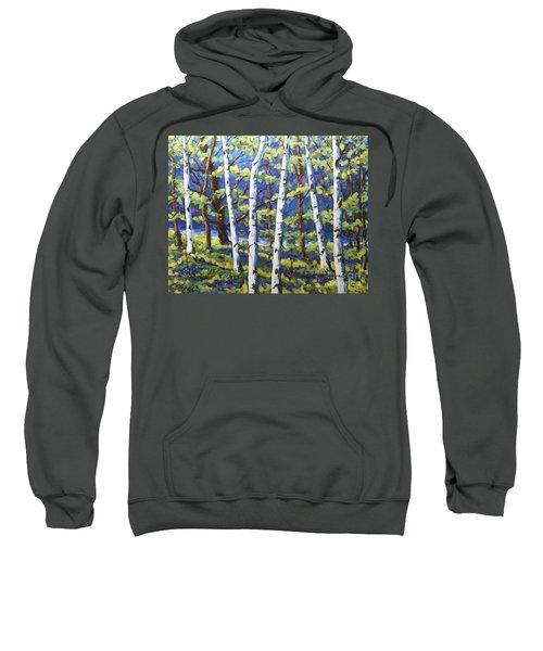 Woodland Birches Sweatshirt