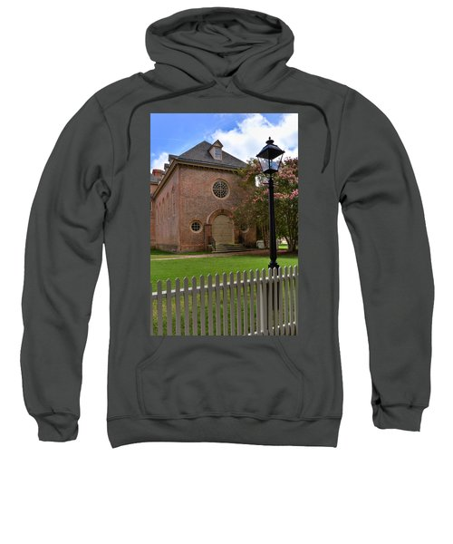 Wren Chapel At William And Mary Sweatshirt