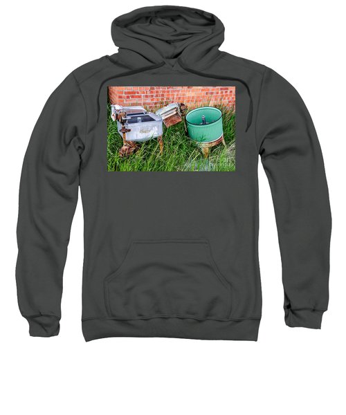 Wringer Washer And Laundry Tub Sweatshirt