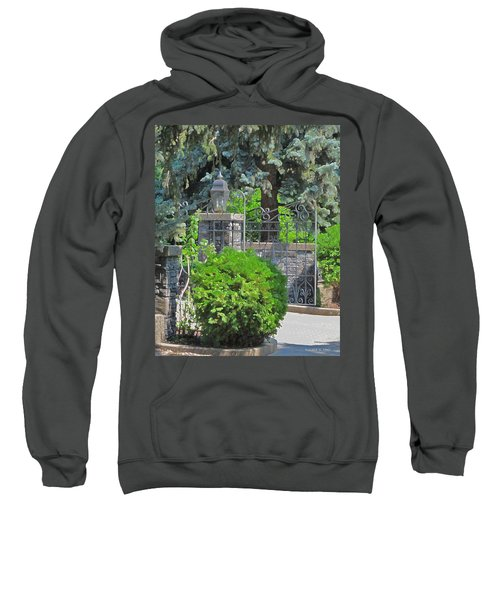 Wrought Iron Gate Sweatshirt