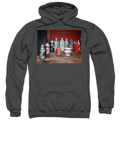 Yak Butter Thermoses Sweatshirt