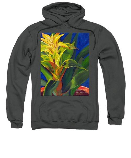 Yellow Bromeliad Sweatshirt