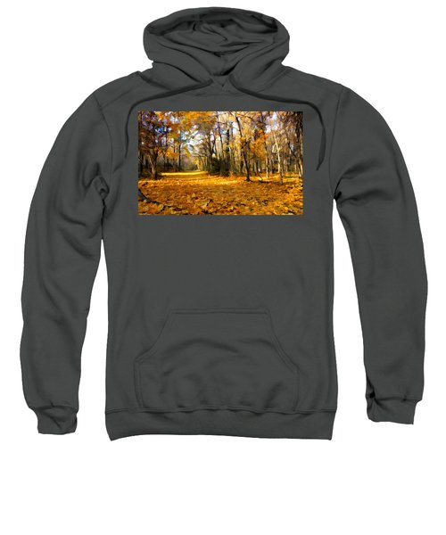 Yellow Leaf Road Sweatshirt