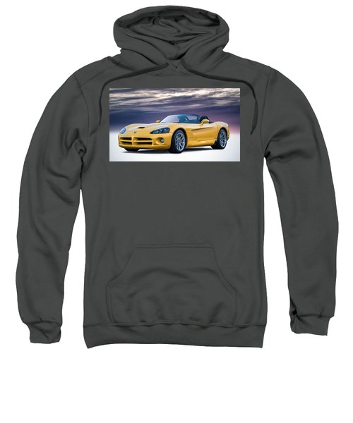 Yellow Viper Convertible Sweatshirt