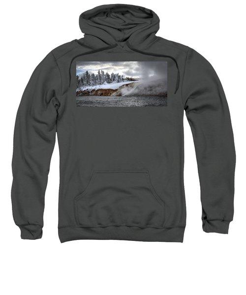 Yellowstone's Fire And Ice Sweatshirt