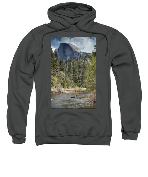 Yosemite National Park. Half Dome Sweatshirt by Juli Scalzi