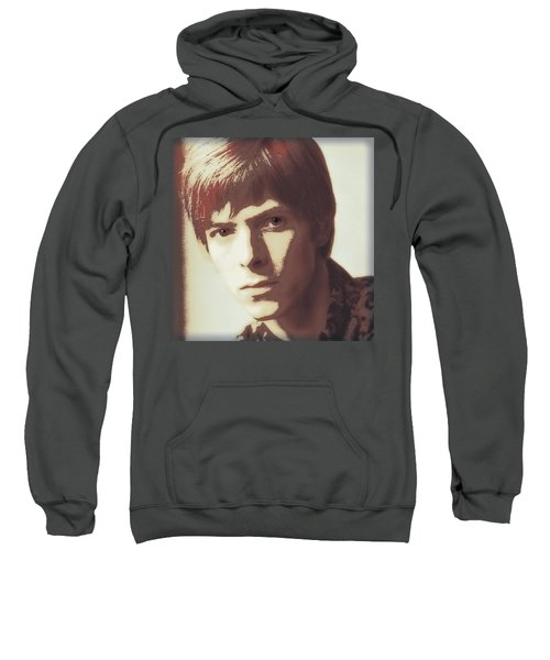 Young Bowie Pop Art Sweatshirt