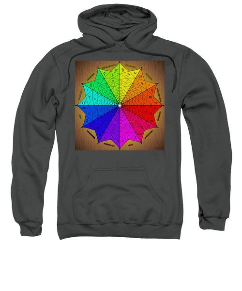 Zodiac Color Star Sweatshirt
