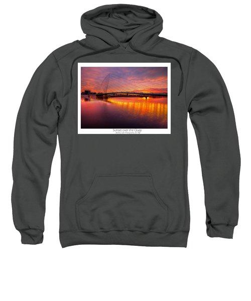 Sunset Over The Quay Sweatshirt