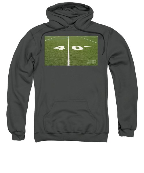 Football Field Forty Sweatshirt