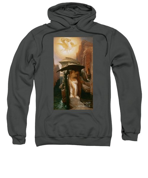 Perseus And Andromeda Sweatshirt by Frederic Leighton
