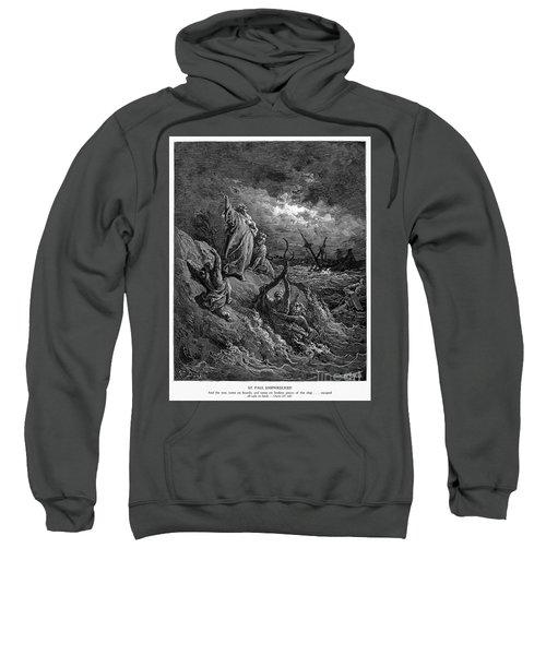 Shipwreck Of St. Paul Sweatshirt