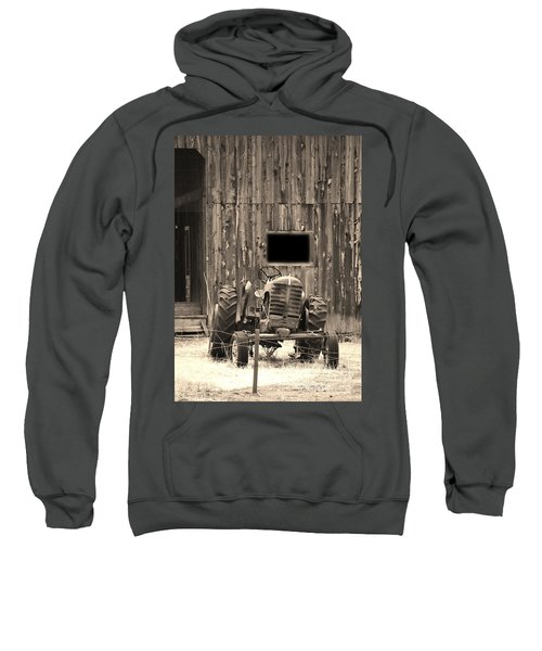 Tractor And The Barn Sweatshirt