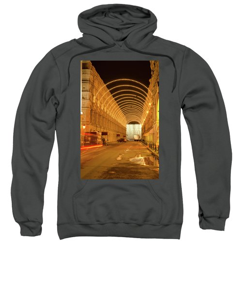 Red Square In Moscow At Night Sweatshirt