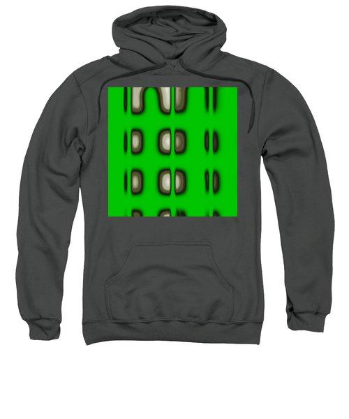 Sweatshirt featuring the digital art Follow The Lights by Mihaela Stancu