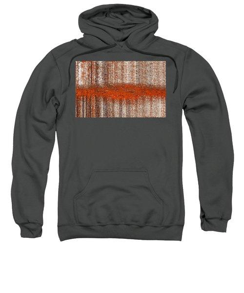 Sweatshirt featuring the digital art Color Rust by Mihaela Stancu