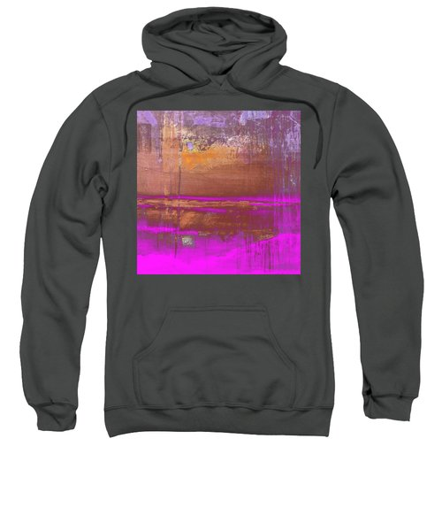 Sweatshirt featuring the digital art Color Patches by Mihaela Stancu