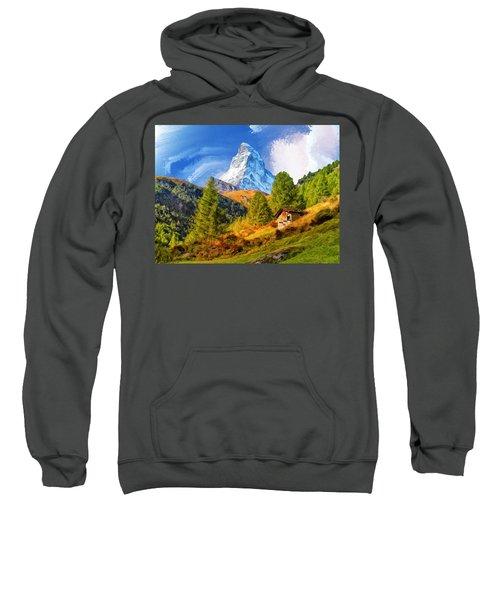 Below The Matterhorn Sweatshirt