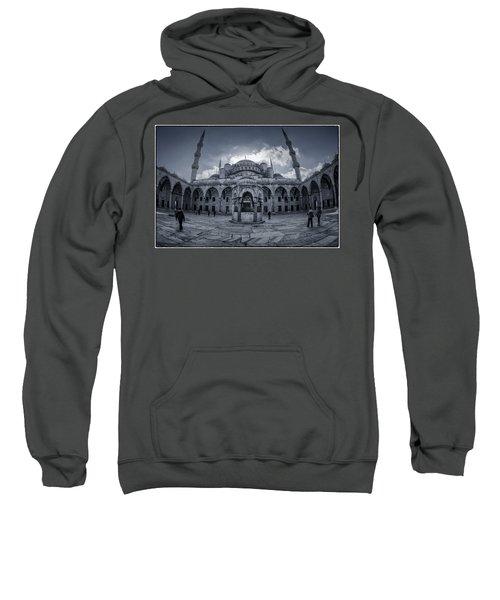 Blue Mosque Courtyard Sweatshirt
