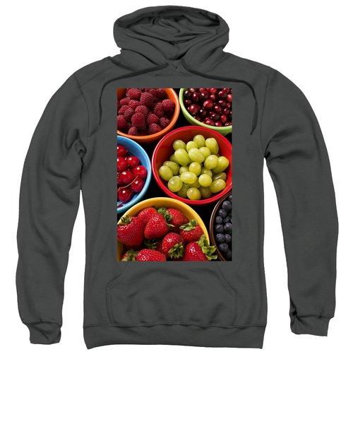 Bowls Of Fruit Sweatshirt by Garry Gay