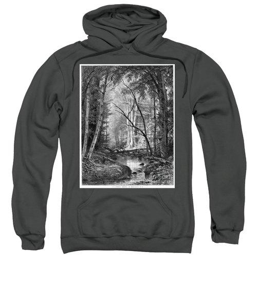 Catskill Brook, 1873 Sweatshirt