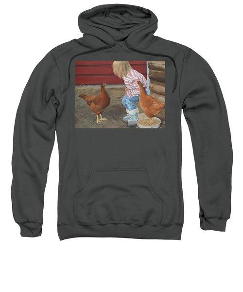 Chicken Talk Sweatshirt