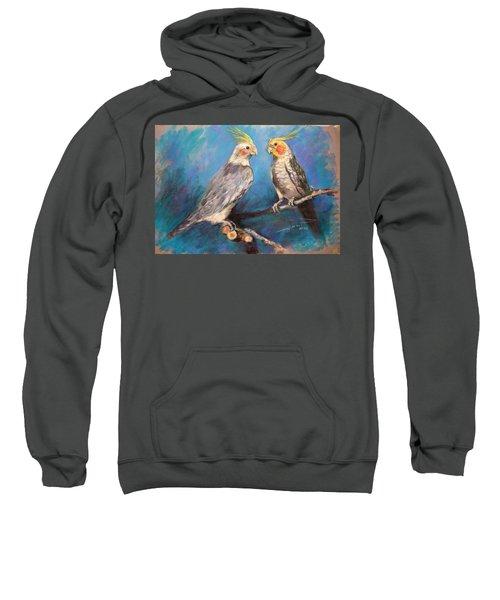 Coctaiel Parrots Sweatshirt