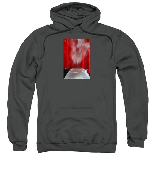 Sweatshirt featuring the photograph Coffee Time by Nareeta Martin