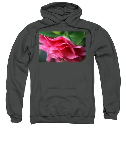 Dancing Petals Of The Camellia Sweatshirt