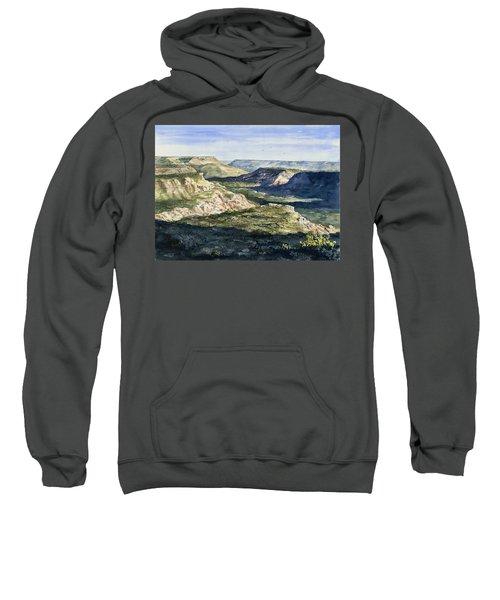 Evening Flight Over Palo Duro Canyon Sweatshirt