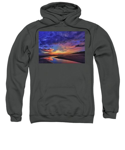 Flowing Out To The Ocean Sweatshirt