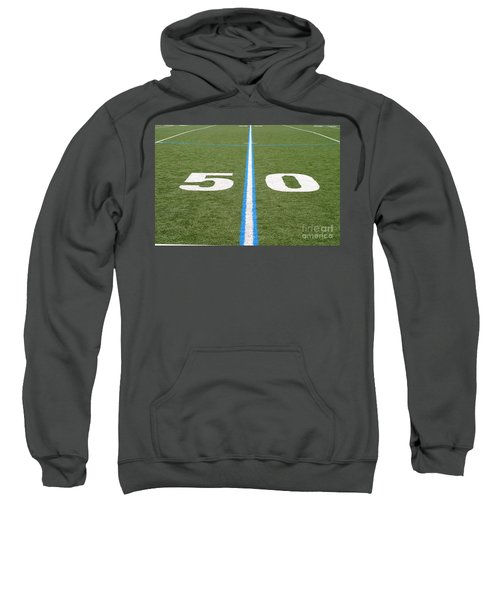 Football Field Fifty Sweatshirt