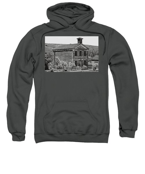 Free Masons Clubhouse - Bannack Montana Ghost Town Sweatshirt