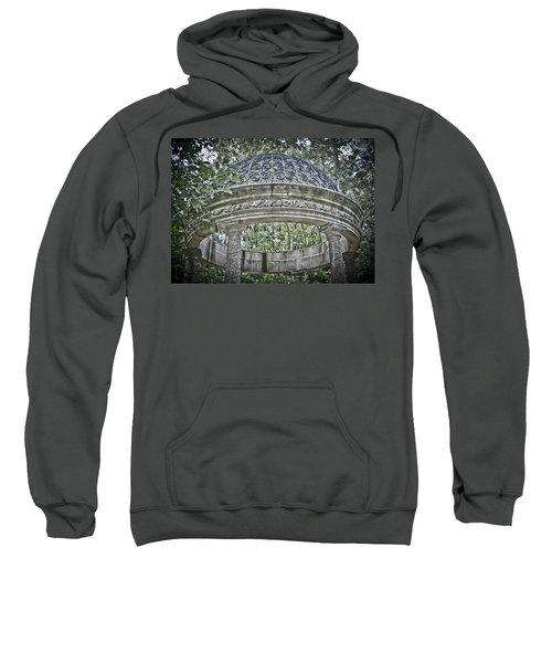 Gazebo At Longwood Gardens Sweatshirt