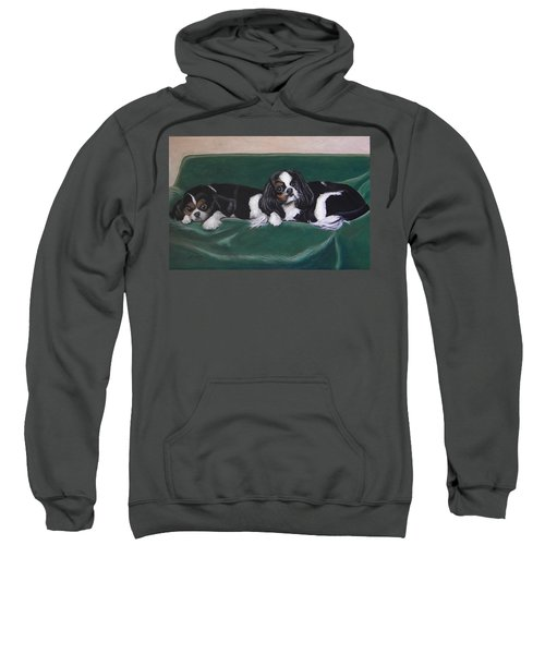 In The Lap Of Luxury Sweatshirt