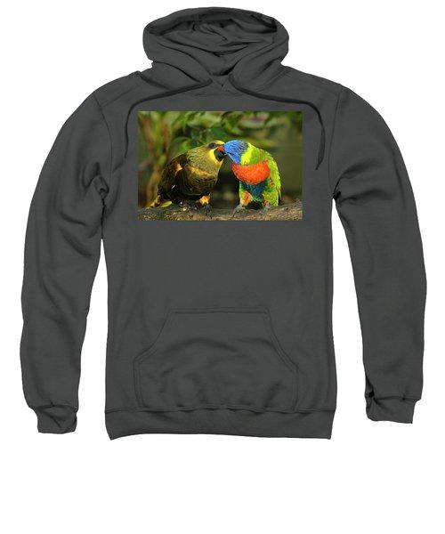Kissing Birds Sweatshirt