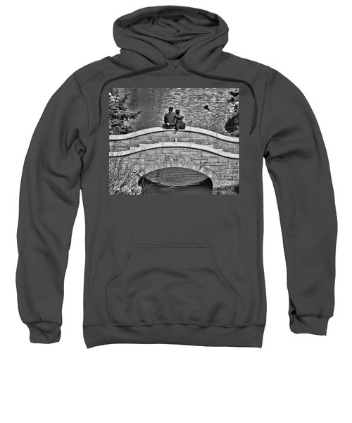 Lovers On A Bridge  Sweatshirt