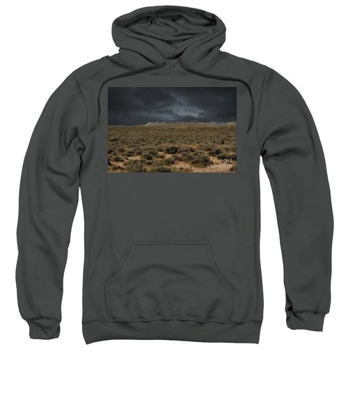 Midnight On The Pairie In Wyoming Sweatshirt